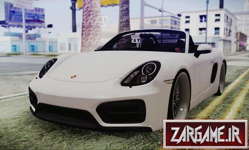 دانلود ماشین پورشه Boxster GTS 2016 برای (GTA 5 (San Andreas