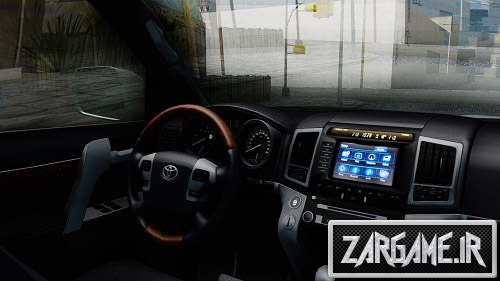 دانلود ماشین Toyota Land Cruiser 200 2016 برای (GTA 5 (San Andreas