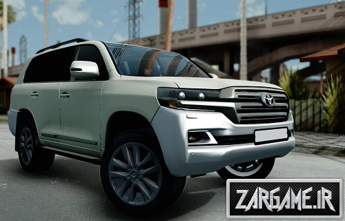 دانلود ماشین Toyota Land Cruiser 200 2016 برای (GTA 5 (San Andreas