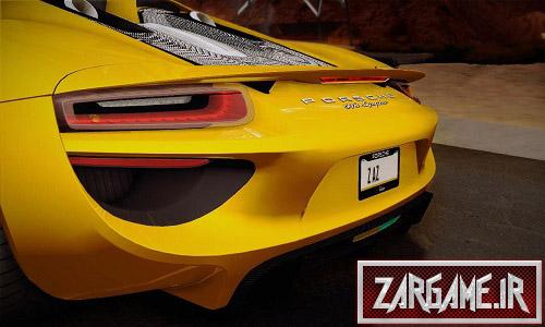دانلود ماشین Porsche 918 Spyder برای (GTA 5 (San Andreas