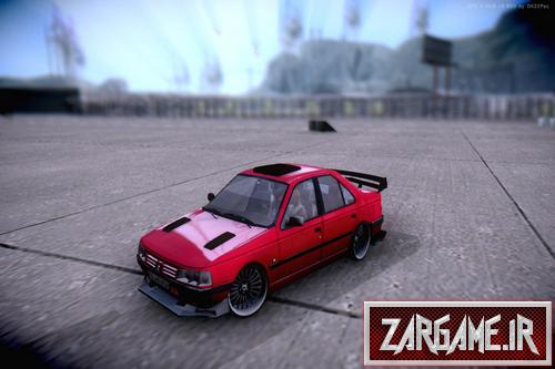 دانلود ماشین پژو 405 ایرانی اسپرت برای بازی (GTA 5 (San Andreas