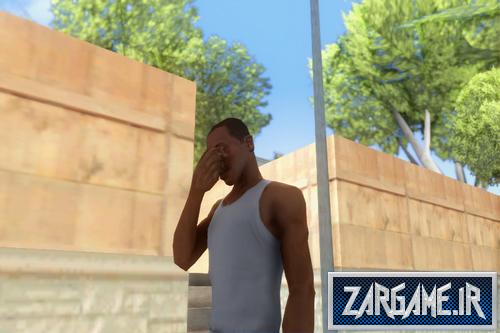 دانلود مود گریه کردن برای بازی (GTA 5 (San Andreas