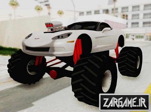 دانلود ماشین شورلت Corvette C6 مانستر برای (GTA 5 (San Andreas