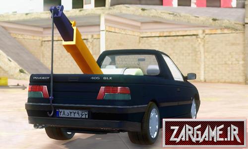 دانلود ماشین پژو 405 جرثقیل برای (GTA 5 (SanAndreas
