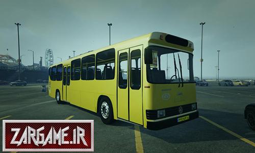 دانلود ماشین اتوبوس خط واحد برای بازی GTA V