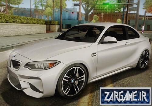 دانلود ماشین BMW M2 2017 برای (GTA 5 (San Andreas