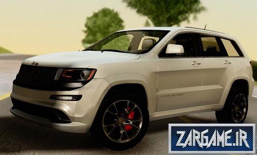 دانلود ماشین Jeep Grand Cherokee SRT8 برای (GTA 5 (San Andreas