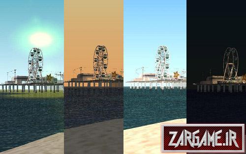 دانلود مود کنترل کردن زمان برای (GTA 5 (San Andreas