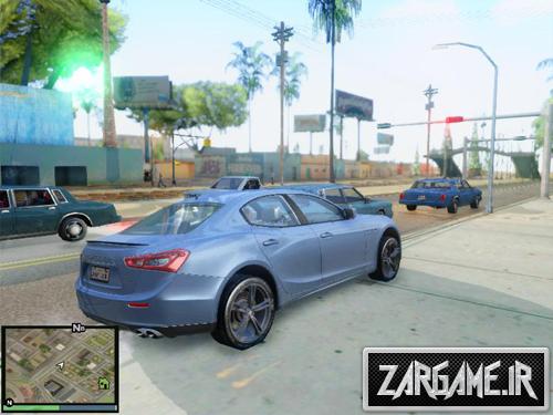دانلود مازراتی سازگار با مود Imvehft برای (GTA 5 (San Andreas