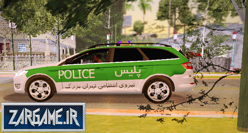 دانلود ماشین پلیس فورد ایرانی برای (GTA 5 (San Andreas