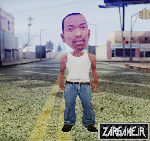 دانلود اسکین مینی سی جی برای (GTA 5 (San Andreas
