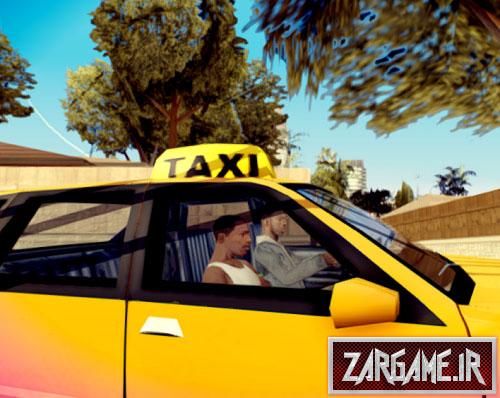 دانلود مد زنگ زدن به تاکسی برای (GTA5 (San Andreas
