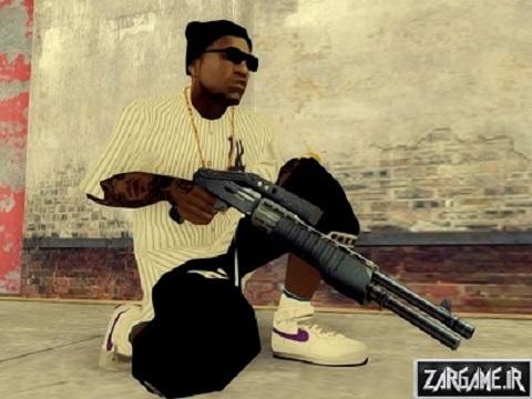 پک اسلحه های full hd برای GTA SanAndreas