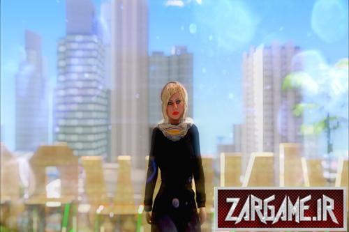 دانلود اسکین دختر ایرانی جدید برای (GTA 5(SanAndreas