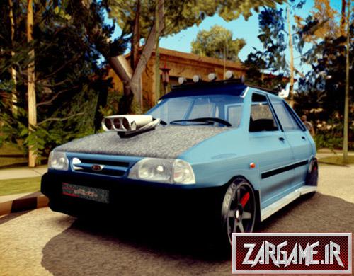 دانلود ماشین پراید هاچ بک فول اسپورت برای بازی (GTA 5 (San Andreas