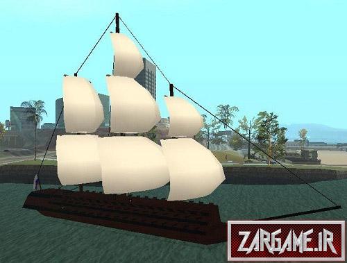 دانلود کشتی بادبانی قدیمی برای (GTA 5 (San Andreas