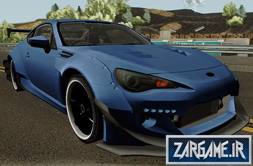 دانلود ماشین Subaru BRZ RocketBunny برای بازی (GTA 5 (San Andreas