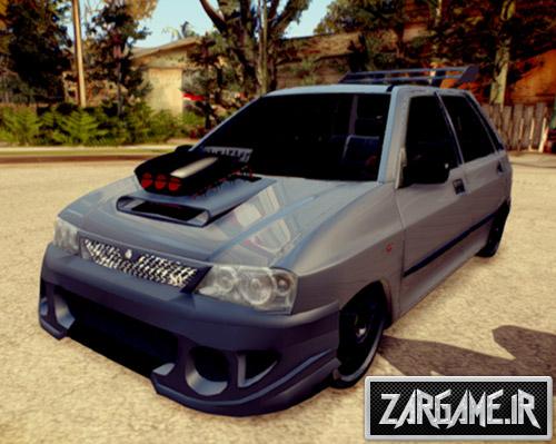 دانلود ماشین پراید هاچ بک فول تیونینگ برای بازی (GTA 5 (San Andreas