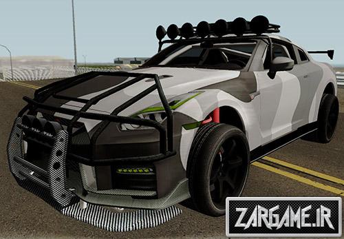 دانلود ماشین نیسان GT-R تیونینگ و آفرود برای بازی (GTA 5 (San Andreas