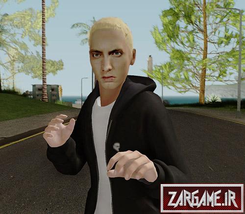 دانلود اسکین Eminem برای بازی (GTA 5 (San Andreas