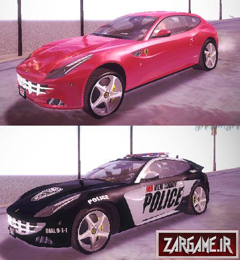 دانلود ماشين فراری (پلیس و معمولی) براي (GTA5 (San Andreas