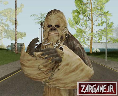 دانلود اسکین پاگنده (Big Foot) برای بازی (GTA 5 (San Andreas