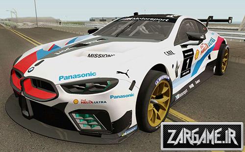 دانلود ماشین BMW M8 GTE 2018 مسابقه ای برای بازی (GTA 5 (San Andreas