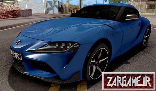 دانلود ماشین Toyota Supra A90 2020 برای بازی (GTA 5 (SanAndreas