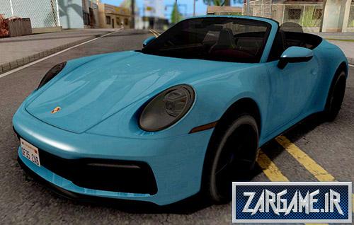دانلود ماشین Porsche 911 Carrera 4S Cabriolet 2020 برای (GTA 5 (San Andreas
