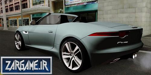 دانلود ماشین Jaguar F-Type برای (GTA 5 (San Andreas