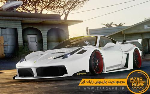دانلود ماشین Ferrari 458 Liberty Walk Shillouette GT برای بازی (GTA 5 (San Andreas