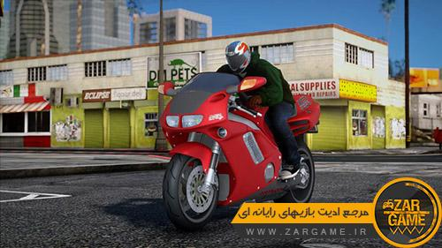دانلود موتور سیکلت 1992 Honda NR-750 برای بازی GTA 5 (San Andreas)