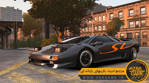دانلود ماشین 1995 Lamborghini Diablo SV برای بازی GTA IV