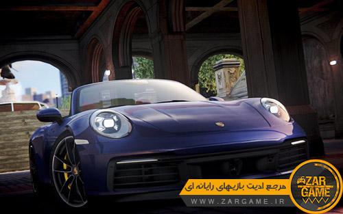 دانلود خودروی 2019 Porsche 911 (992) Carrera S Cabriolet برای بازی GTA IV