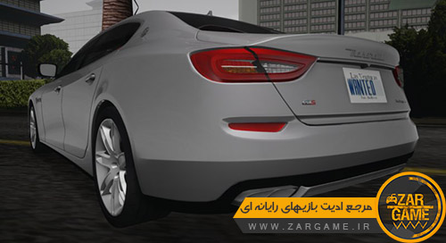 دانلود ماشین 2015 Maserati Quattroporte GTS برای بازی GTA San Andreas