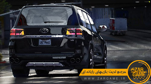 دانلود ماشین Toyota Land Cruiser V8 2017 برای بازی GTA V