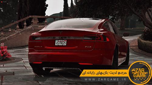 دانلود ماشین Tesla Model S برای بازی GTA V