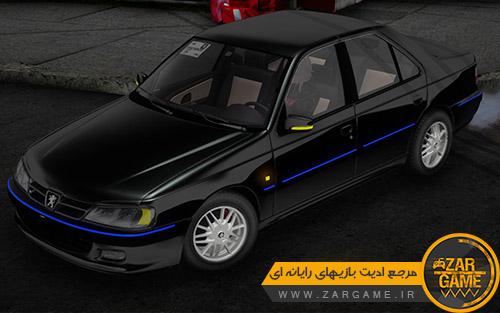 دانلود ماشین پژو پارس ای ال ایکس داشبورد جدید برای بازی GTA San Andreas