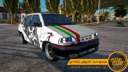 دانلود خودروی پراید 131 اسپرت ادیت Mobin Kurd برای GTA SA [کامپیوتر و اندروید]