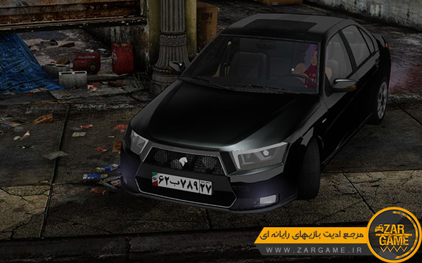دانلود ماشین ایرانی Dena Plus | دنا پلاس برای بازی GTA San Andreas