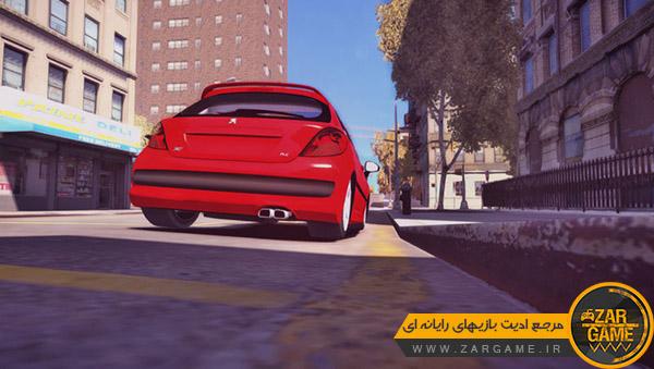 دانلود ماشین پژو 207 برای بازی GTA IV