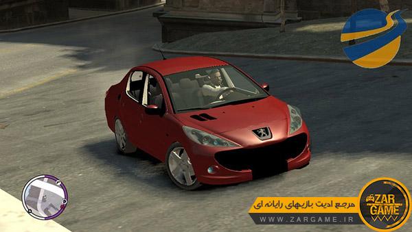 دانلود ماشین پژو 207 صندوقدار برای بازی GTA IV