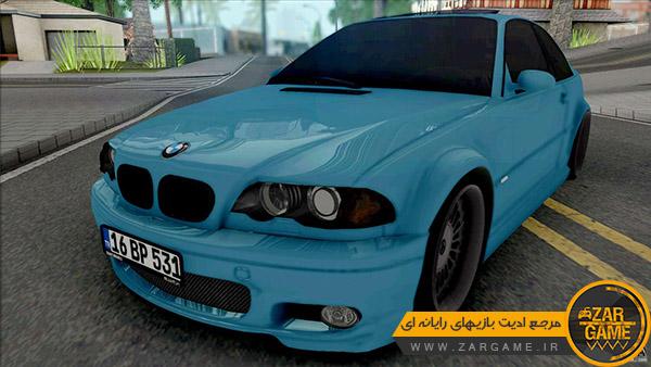 دانلود ماشین BMW 318Ci E46 Dapper برای بازی GTA San Andreas