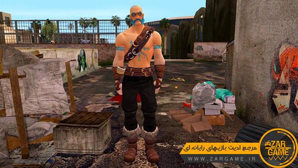 دانلود اسکین Ragnarok از بازی Fortnite برای بازی GTA San Andreas