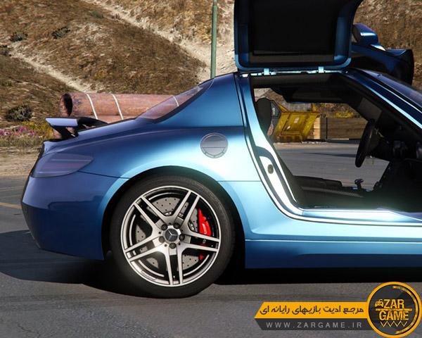 دانلود ماشین 2011 Mercedes-Benz SLS AMG برای بازی GTA V