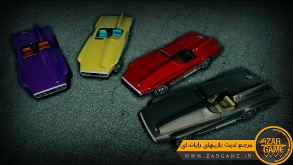 دانلود ماشین 1960 Plymouth XNR Ghia Roadster کانسپت برای بازی GTA San Andreas