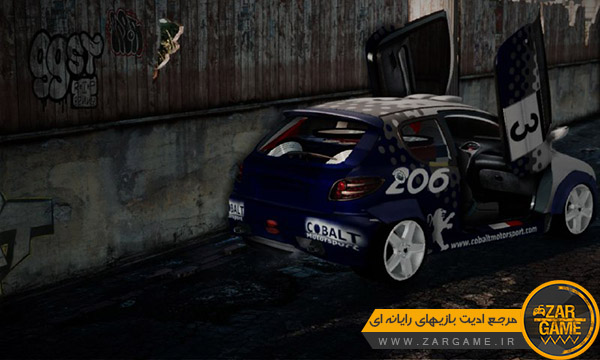 دانلود ماشین پژو 206 اسپورت ادیت AMIR_BND برای بازی GTA San Andreas