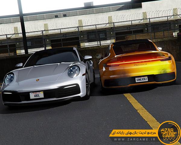 دانلود ماشین 2020 Porsche 911 Carrera S برای بازی GTA V