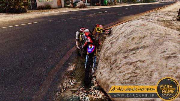 دانلود موتورسیکلت Honda CRF450 Rally برای بازی GTA V