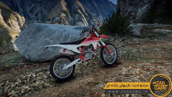 دانلود موتور سیکلت 2022 GasGas EC350F برای بازی GTA V
